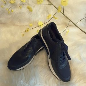 Michael kors genuine leather sneakers with white
